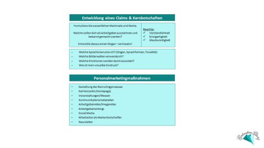 Arbeitgebermarke_Claim_Botschaften_Maßnahmen
