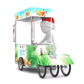 kreatives Sommerfest Foodtruck Eiswagen Softeis Frozen Yoghurt