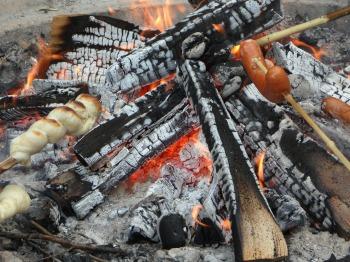 kreatives Sommerfest Grillfest Barbecue